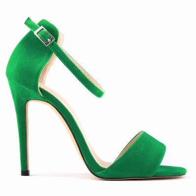 Strappy High Heel Stiletto Sandals ..