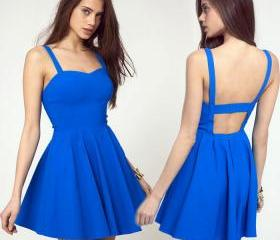 summer women backless dress ladies sexy dresses