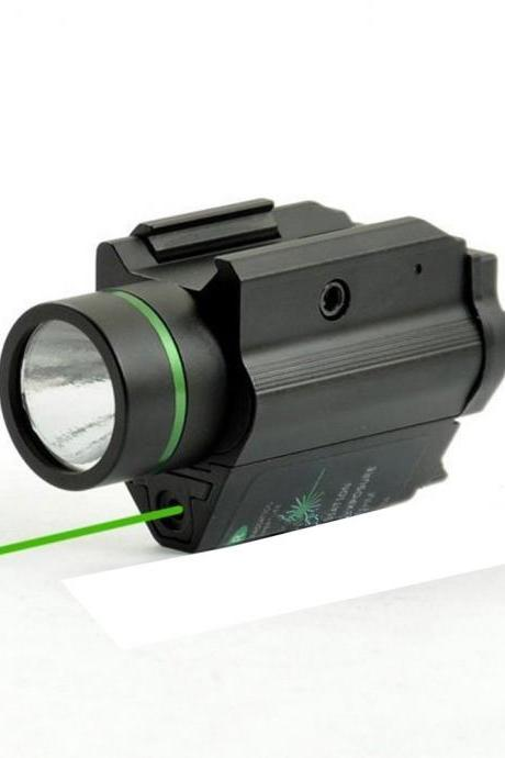 New Item 3W-H2 Aluminum M6GR Flashlight with Green Laser