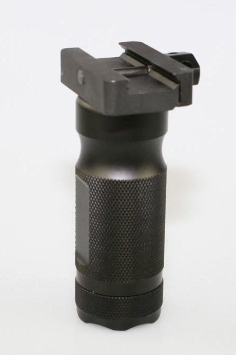 Tactical Grip Vertical Foregrip Rail Mount Aluminum w/storage Quick Detach