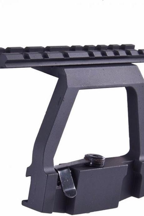 Tactical Quick Detach Picatinny Rail Scope Side Mount Rail Lock